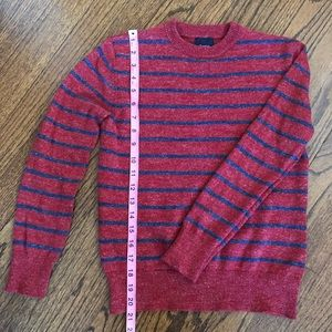 Gap Red and Blue Stripe Cotton Sweater.